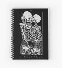 Cuaderno de espiral Los amantes