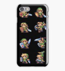 Zelda Link 8-Bit iPhone Case/Skin