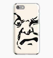 THE MAN ON THE MOON IS AN ANGRY MOFO iPhone Case/Skin