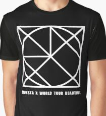 Monsta X Beautiful World Tour - Guilty Version Graphic T-Shirt