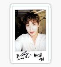 Pegatina WANNA-ONE (황 미현) pies Ha Sungwoon (하성 월)