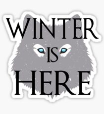 Winter is Here Game of Thrones  Sticker