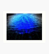 SCAREY WATERS Art Print
