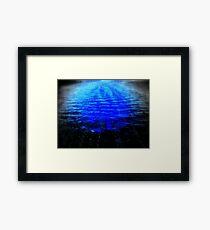 SCAREY WATERS Framed Print