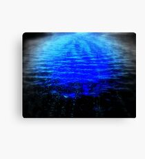 SCAREY WATERS Canvas Print