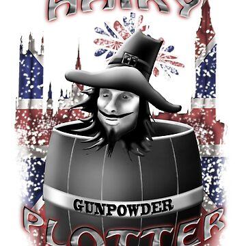 Hairy Plotter by gruntpig