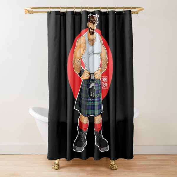 ADAM LIKES KILTS Shower Curtain