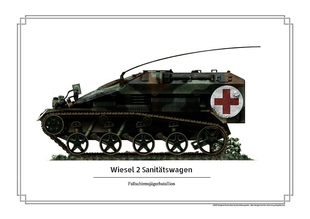 Wiesel 2 sanitatswagen