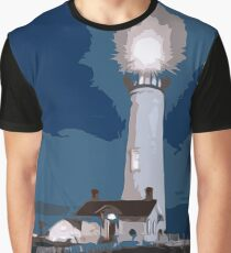 Pigeon Point Lighthouse California Graphic T-Shirt