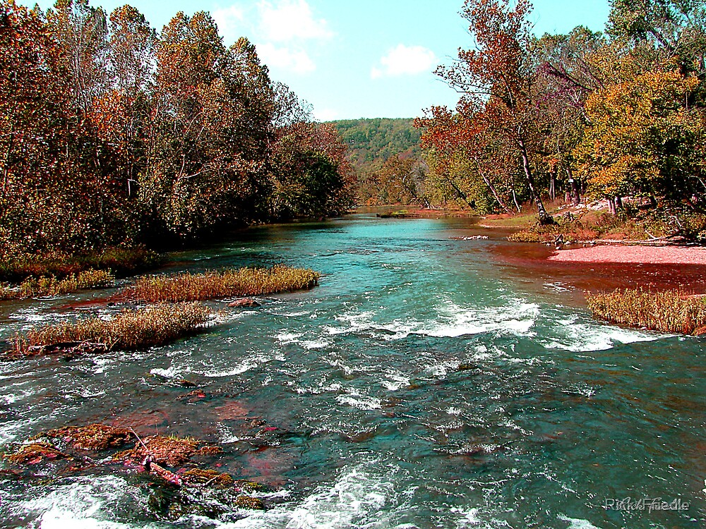 Autumn River by Rick  Friedle
