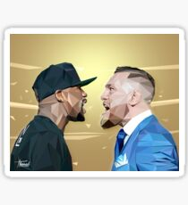 THE FIGHT OF THE CENTURY  Sticker