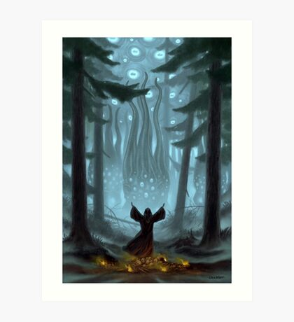 Invocation to the Goat Art Print