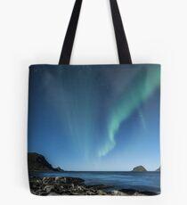 aurore boréale Tote Bag