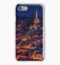 Paris Skyline At Night iPhone Case/Skin