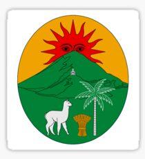 Pegatina Insignia de Bolivia