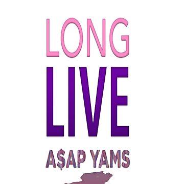 A$AP YAMS by baghdad