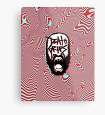 Death Grips - Vaporwave Metal Print