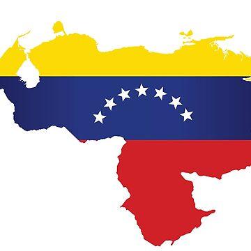 Venezuelan heart - flag design by sele504