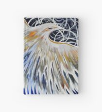 Flower of Life Dove- Freedom Fowl Series Hardcover Journal