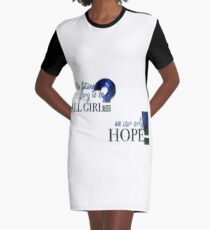 13th Doctor Graphic T-Shirt Dress