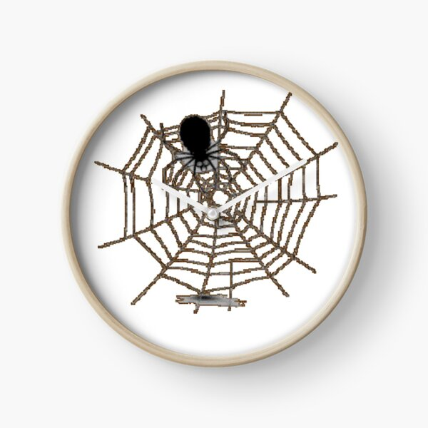 spider with web Clock