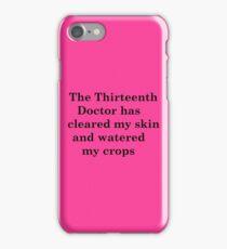 The Thirteenth Doctor iPhone Case/Skin
