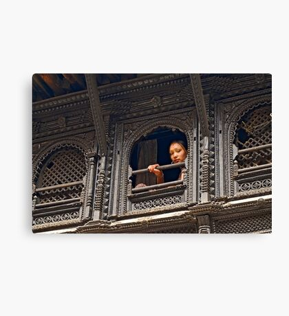 A young princess? Canvas Print