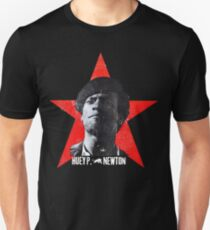 Black Panther sticker tshirt huey newton T-Shirt