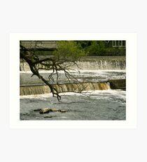 Exeter, NH Waterfalls Art Print