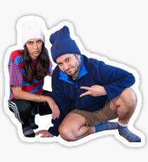 Ethan & Hila Sticker