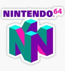 N64 Aesthetic Sticker