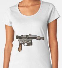 Han Solo Blaster  Women's Premium T-Shirt