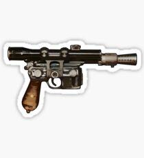 Han Solo Blaster  Sticker