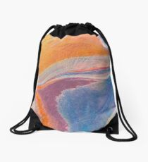 When Oceans Meet Drawstring Bag