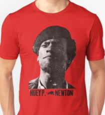Black Panther panthers sticker tshirt huey newton  T-Shirt