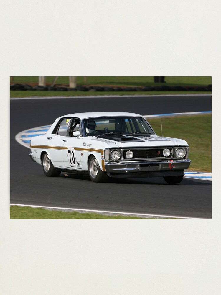 Alternate view of XW GT Falcon Photographic Print