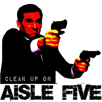 The Office - Threat Level Midnight - Michael Scott - Clean Up On Aisle Five by sbaldesco