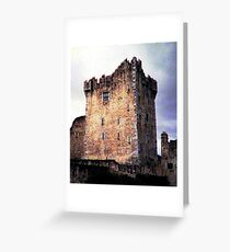 Ross Castle, Kilarney Ireland Greeting Card