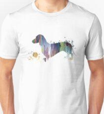 Dachshund art T-Shirt