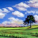 Summer Cloudscape by Carolyn Bishop