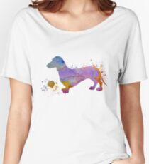Dog Art - Dachshund Women's Relaxed Fit T-Shirt