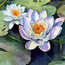 Waterlilies by Ann Mortimer