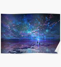 Ocean, Stars, Sky, and You Poster