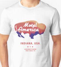 American gods - Motel America  T-Shirt