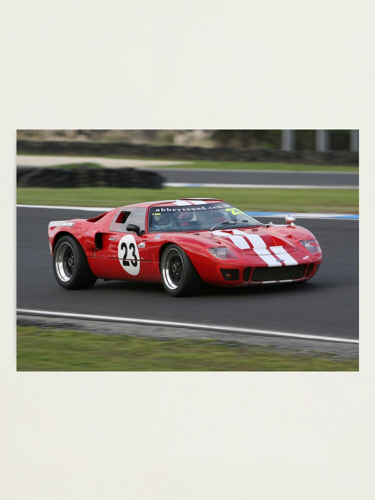 Alternate view of RF GT40 Photographic Print