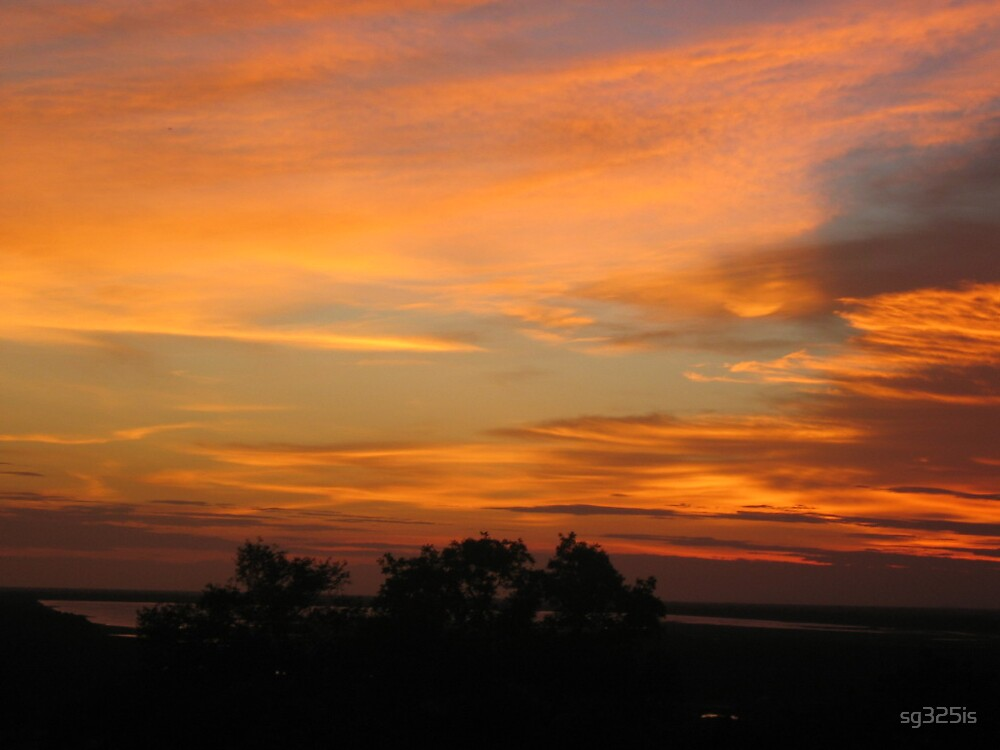 Cambodian Sunset 2 by sg325is