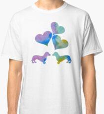 Dachshund Art Classic T-Shirt