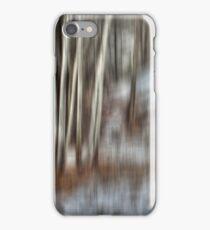 Poplar Cluster in the Wind iPhone Case/Skin