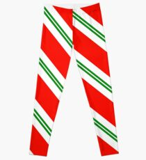Candy Cane Stripes Leggings