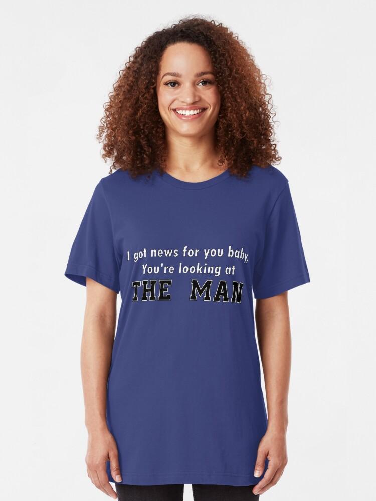 Alternative Ansicht von Der Mann Slim Fit T-Shirt